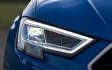 Audi RS3 Sportback LED headlights