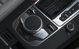 Audi RS3 Sportback MMI infotainment controller