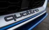 Audi RS3 Sportback quattro badging