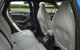 Audi RS3 Sportback rear seats