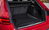 Audi RS4 Avant boot space