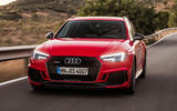 Audi RS4 Avant cornering