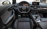 Audi RS4 Avant dashboard