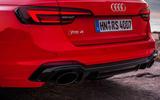 Audi RS4 Avant dual exhaust system