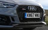 Audi RS4 Avant front grille