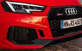 Audi RS4 Avant LED headlights