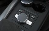 Audi RS4 Avant MMI infotainment controller