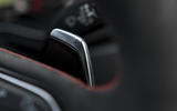 Audi RS4 Avant paddle shifters