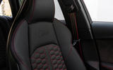 Audi RS4 Avant quilted leather seats