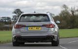 Audi RS4 Avant rear cornering
