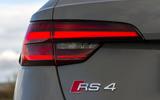 Audi RS4 Avant rear lights