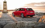 Audi RS4 Avant rear quarter
