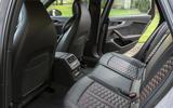 Audi RS4 Avant rear seats
