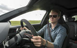Richard Lane driving the Audi RS4 Avant