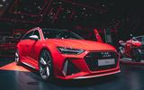 2020 Audi RS6 Avant at Frankfurt motor show