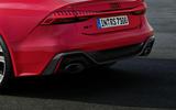 2020 Audi RS7 Sportback reveal - static rear detail