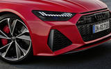 2020 Audi RS7 Sportback reveal - static front detail