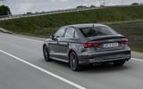 Audi S3 Saloon rear