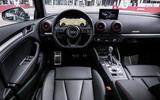 Audi S3 Saloon dashboard