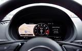 Audi S3 Saloon virtual cockpit