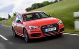 2017 Audi S4 saloon front shot
