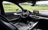 2017 Audi S4 saloon interior