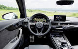 2017 Audi S4 saloon driving position