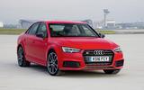 2017 Audi S4 saloon driving
