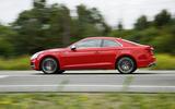 Audi S5 side profile