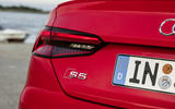 Audi S5 badging