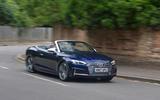 Audi S5 Cabriolet cornering