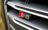 Audi S5 Cabriolet grille badging