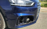 Audi S5 Cabriolet front end damage