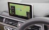 Audi S5 Cabriolet MMI infotainment system