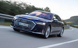 Audi S8 2019 first drive review - tracking front