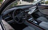 Audi S8 2019 first drive review - cabin
