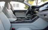 Audi S8 2019 first drive review - front seats