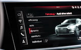 Audi S8 2019 first drive review - infotainment