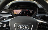Audi S8 2019 first drive review - digital cluster