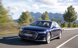 Audi S8 2019 first drive review - on the road front