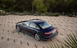 Audi S8 2019 first drive review - static rear