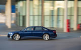 Audi S8 2019 first drive review - on the road side