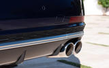 Audi S8 2019 first drive review - exhaust