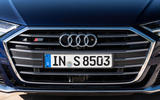 Audi S8 2019 first drive review - front bumper