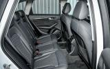 Audi SQ5 Plus 2016 UK review rear seats