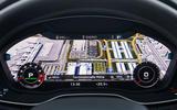 Audi SQ5 Virtual Cockpit sat nav