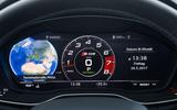 Audi SQ5 digital instrument cluster