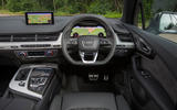 Audi SQ7 driver's seat