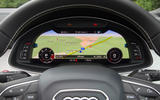 Audi SQ7 virtual cockpit
