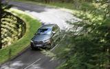 Audi SQ7 cornering